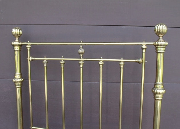 how to clean brass plated bed frame