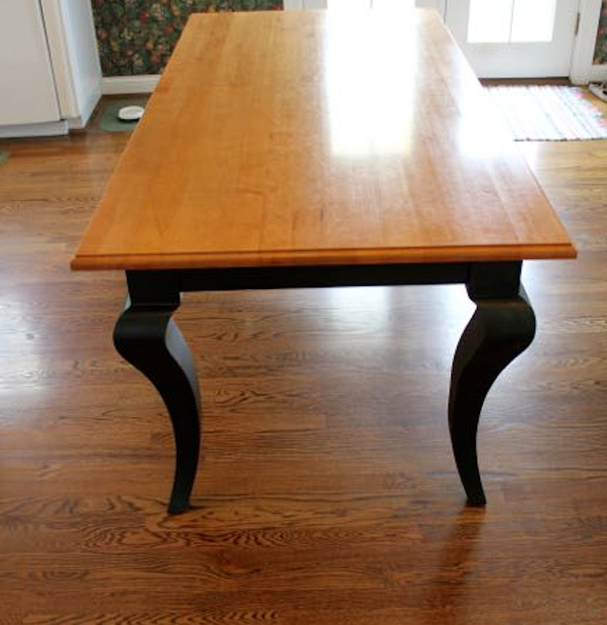 Country Dining Tables French Country Dining Table By Taylor Woodcraft Ebth