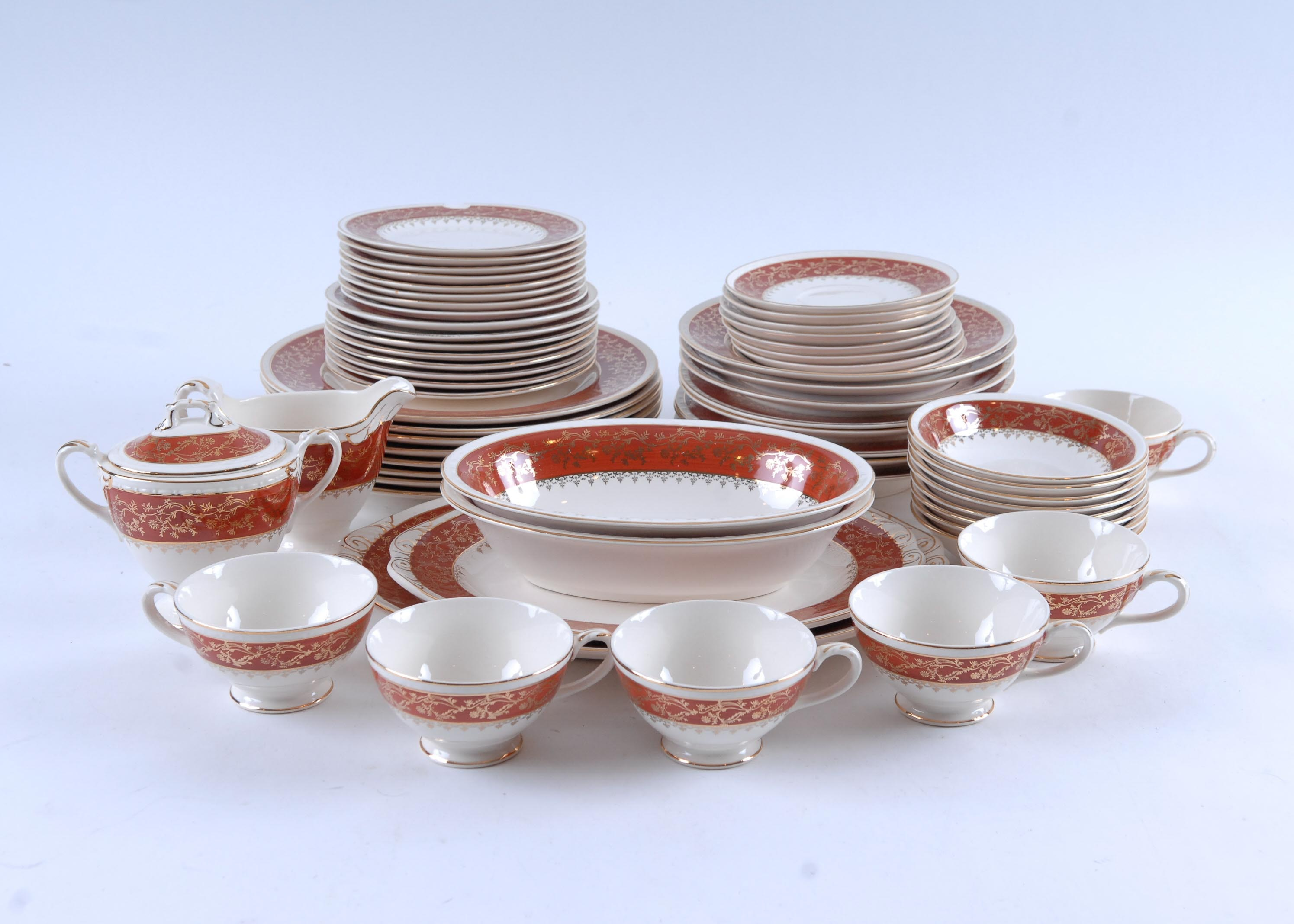 Georgian by Craftsman Dinnerware USA ... & Georgian by Craftsman Dinnerware USA : EBTH