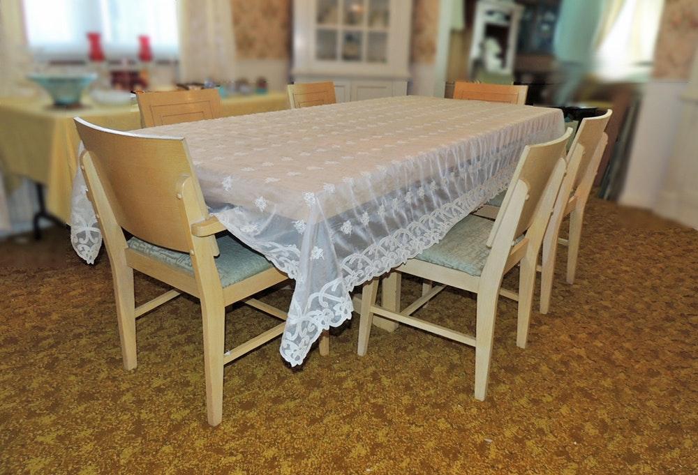 mid century american of martinsville dining set : ebth
