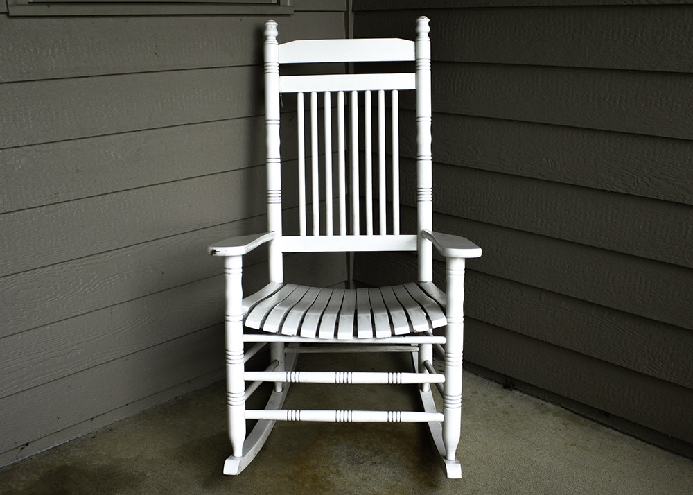 Cracker Barrel Rocking Chair Ebth