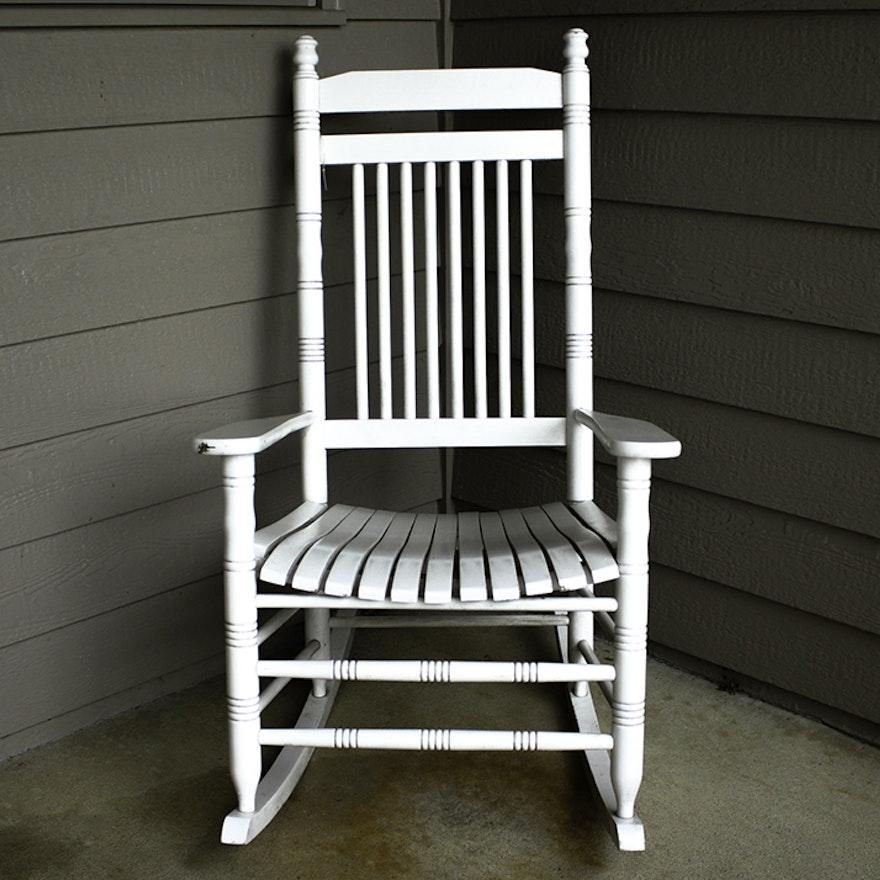 Cracker Barrel Rocking Chair Ebth