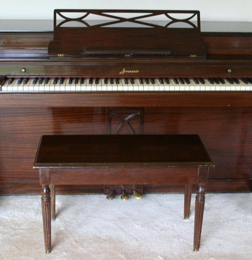 Vintage Baldwin Acrosonic Upright Piano Ebth