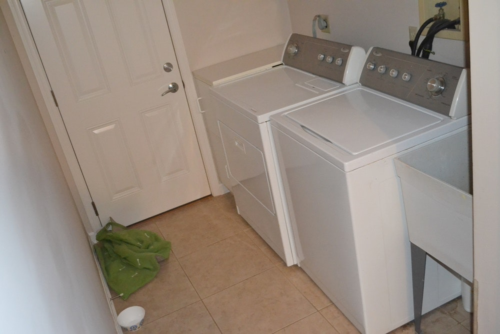 whirlpool washing machine and dryer