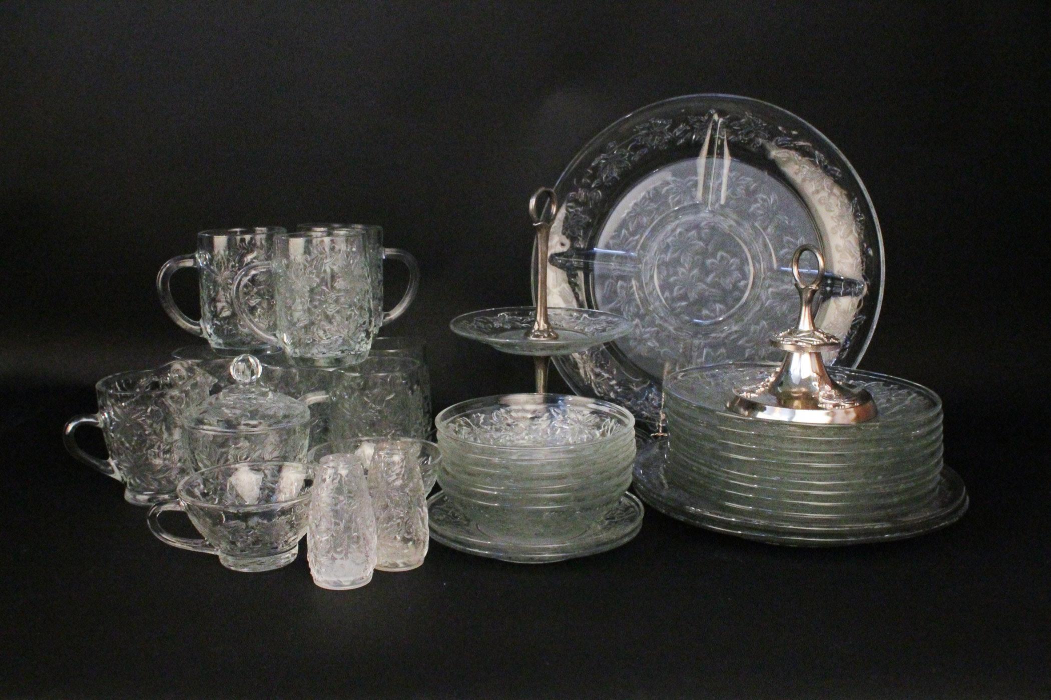 Princess House Fantasia Crystal Dishes ... & Princess House Fantasia Crystal Dishes : EBTH