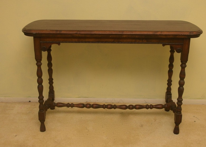 Early American Style Sofa Table ...