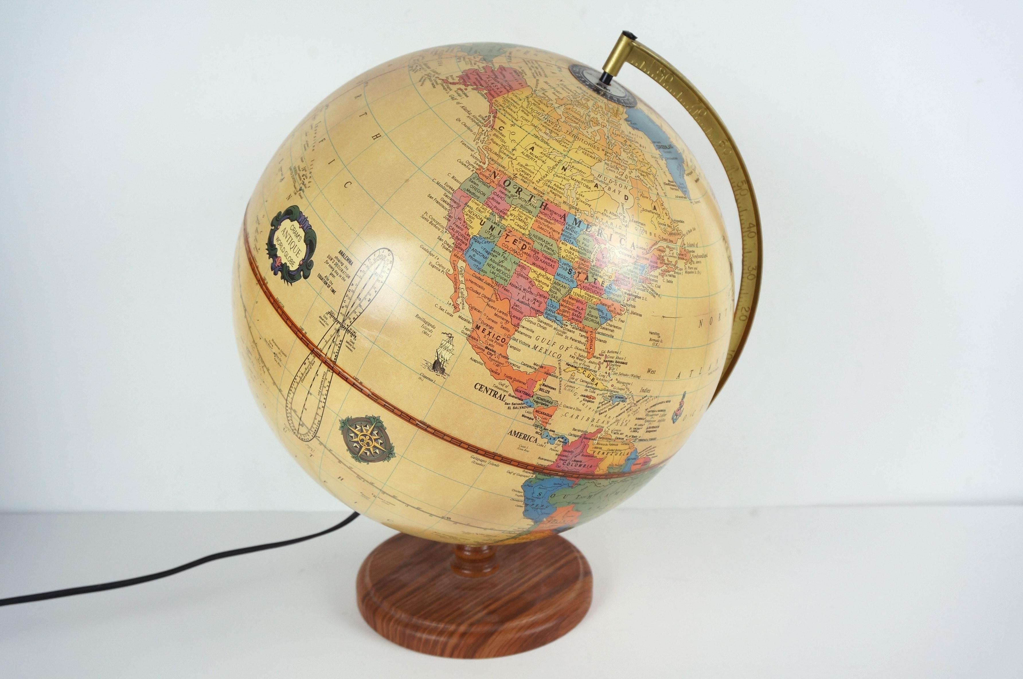 Cramu0027s Antique World Globe Lamp ...
