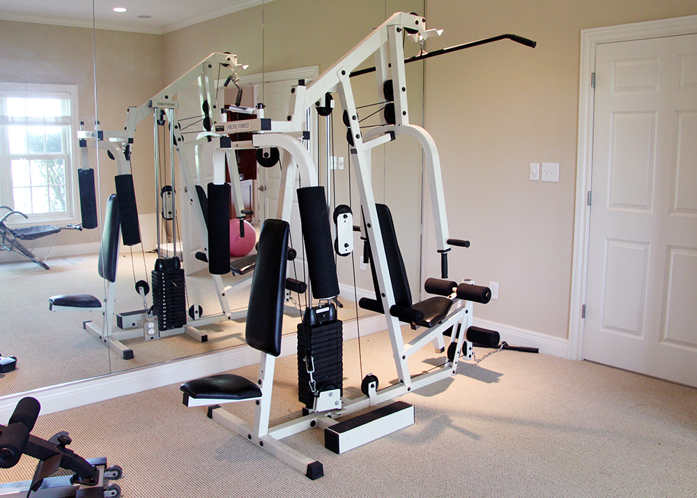 Pacific fitness home gym ebth