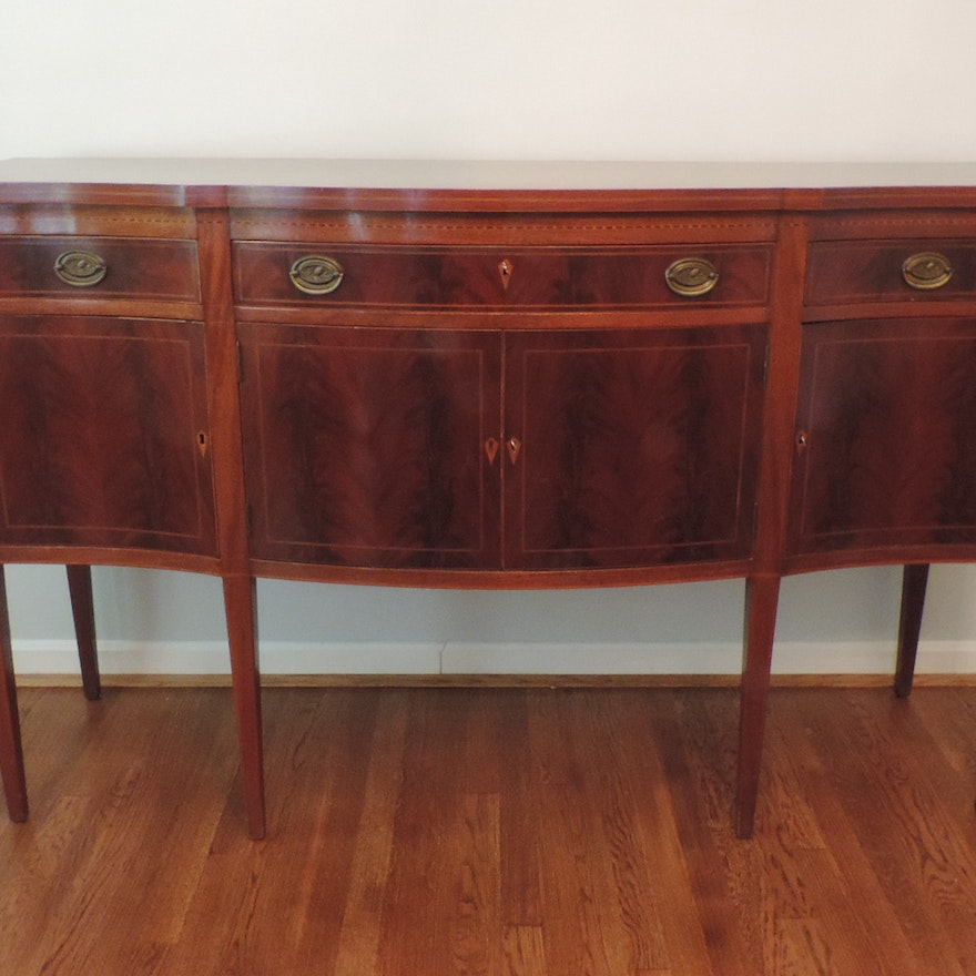 Dfw Furniture Columbus Ohio: Early 20th Century Federal Style Sideboard