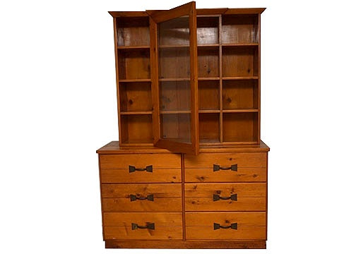 Exceptionnel Habitant Knotty Pine Furniture Hutch ...