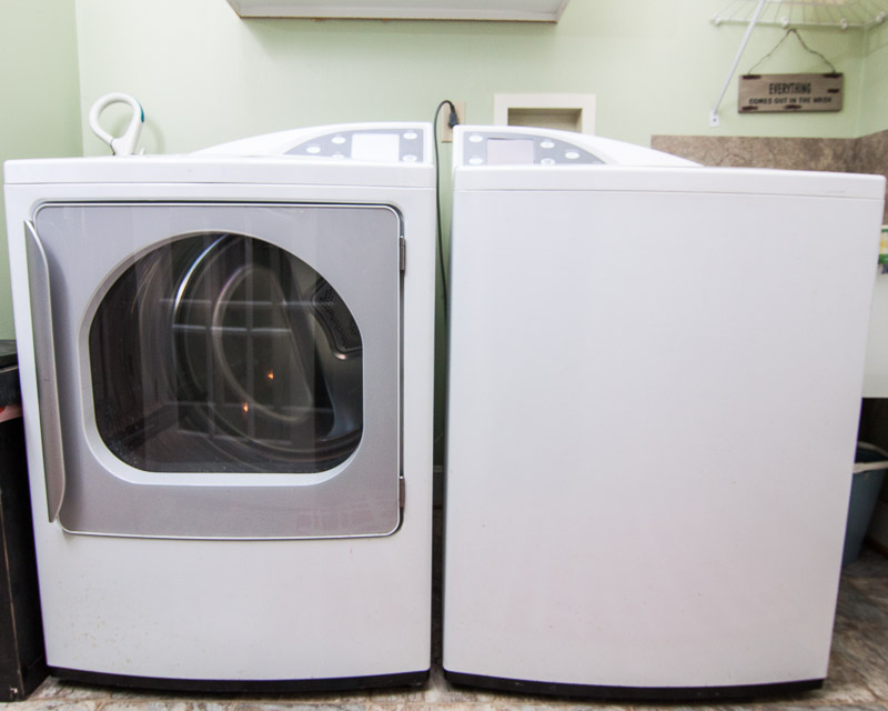GE Profile Washer and Dryer EBTH