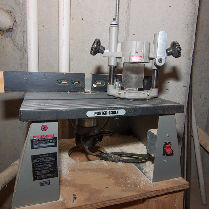 Porter cable router table ebth porter cable router table keyboard keysfo Images