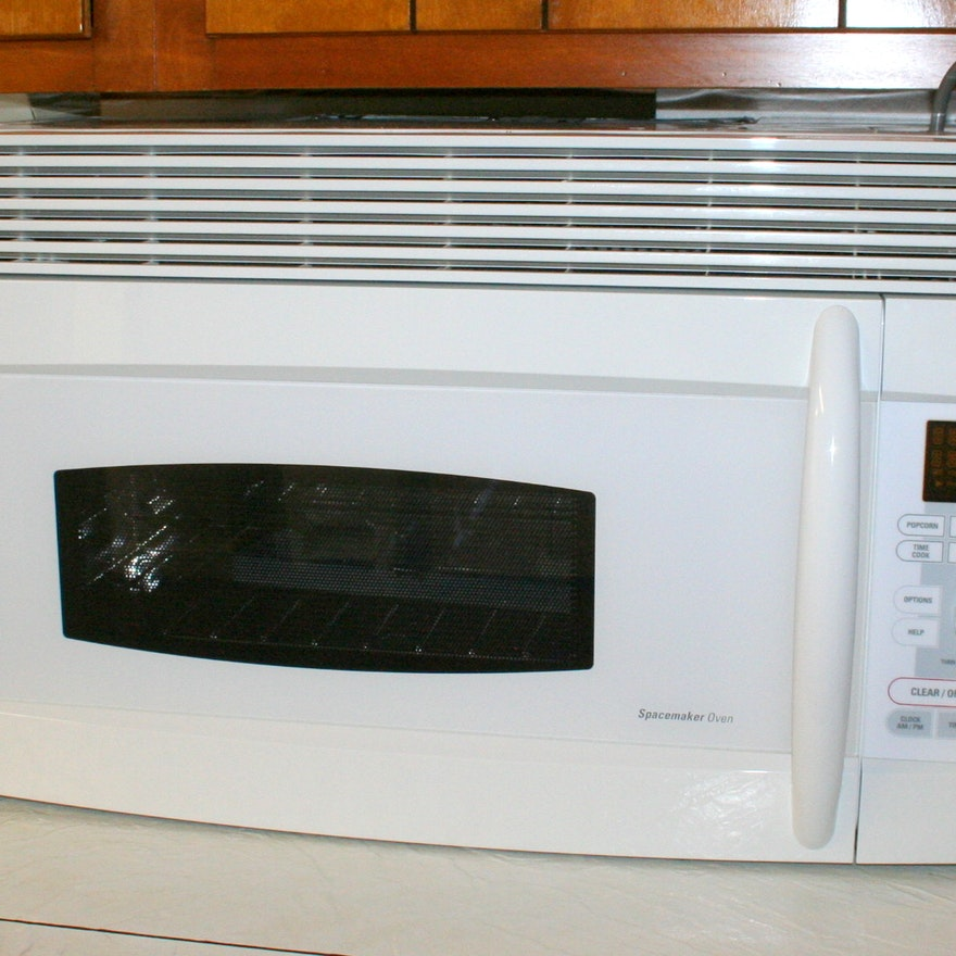 Under Cabinet Ge Profile Microwave Convection Oven