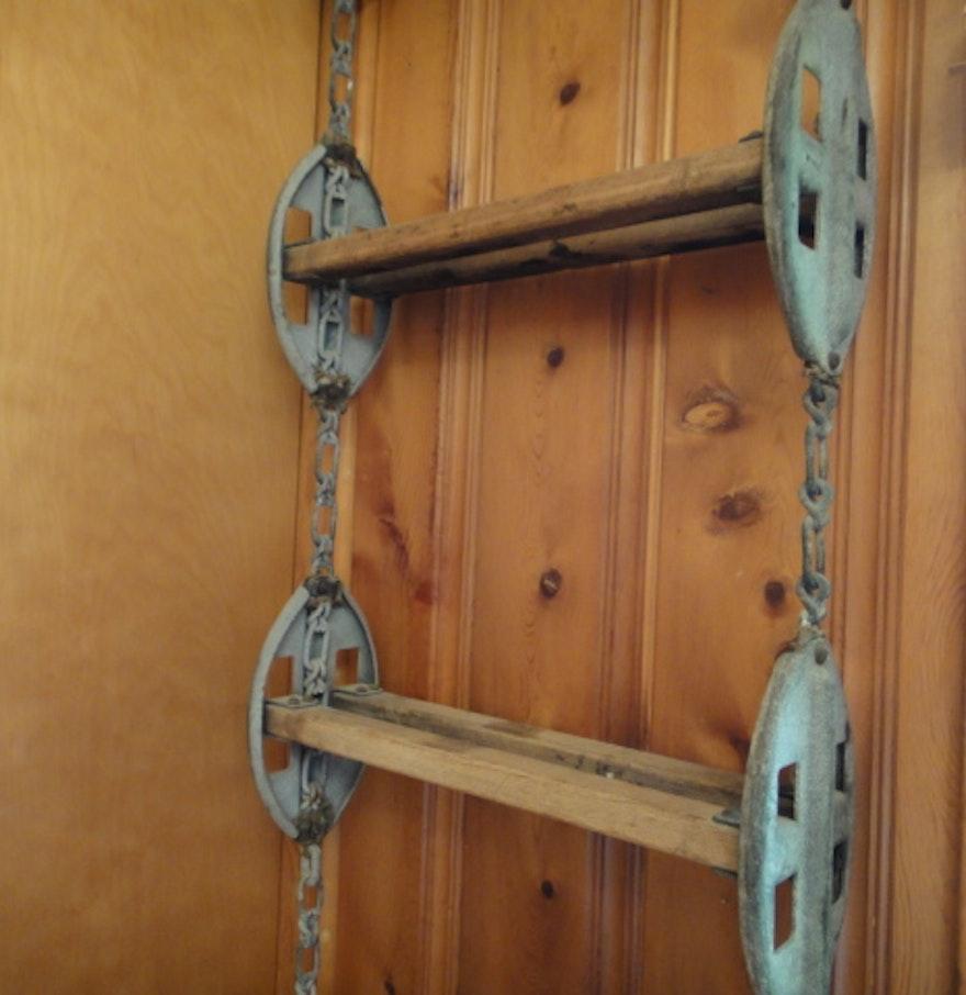 Vintage Nautical Decor Sale: Antique Nautical Ship's Ladder : EBTH