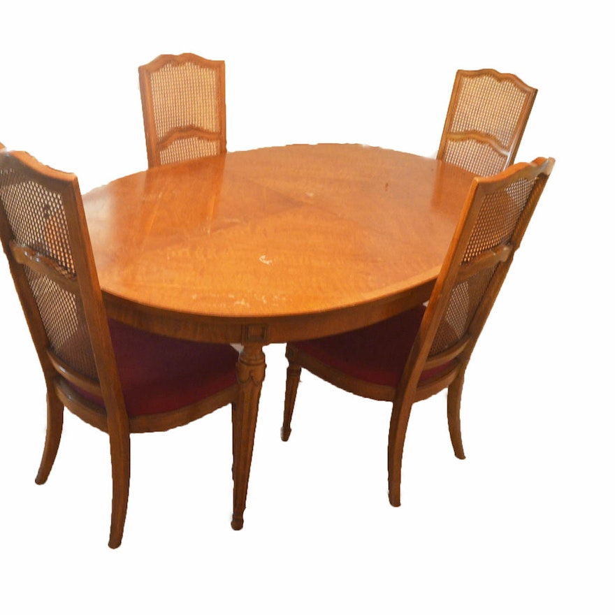 thomasville ebay table sale for collection oval room two with set furniture dining bridges leaves tables