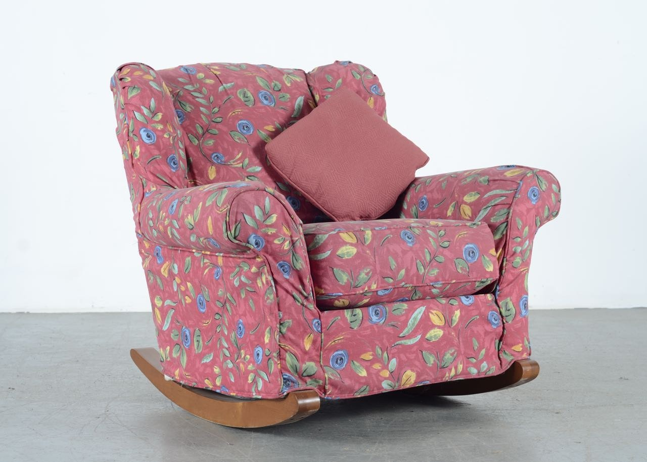 Plush Rocking Chair By Rowe Furniture ...