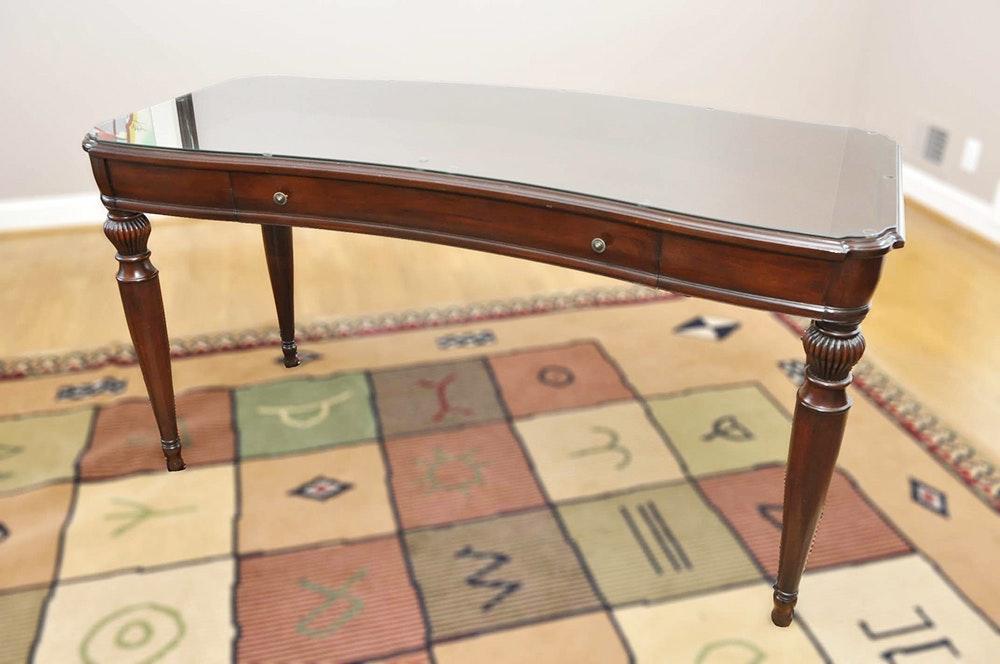Bombay Company Mahogany Desk Ebth