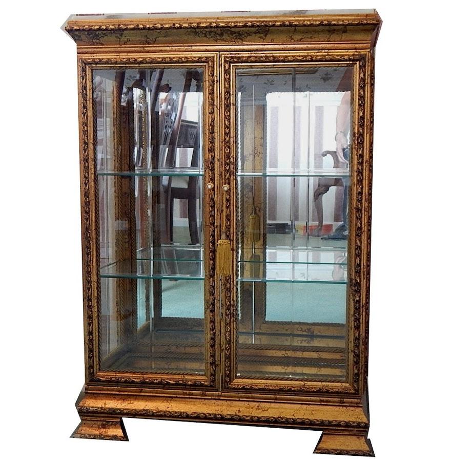 Italian curio cabinet ebth for Italian cabinets