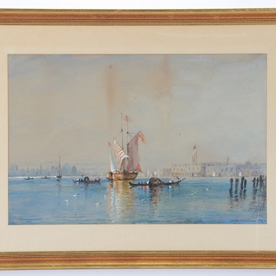 Edmund Darch Lewis Paintings For Sale