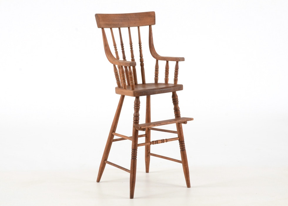 Circa 1890s Oak Youth Chair ...