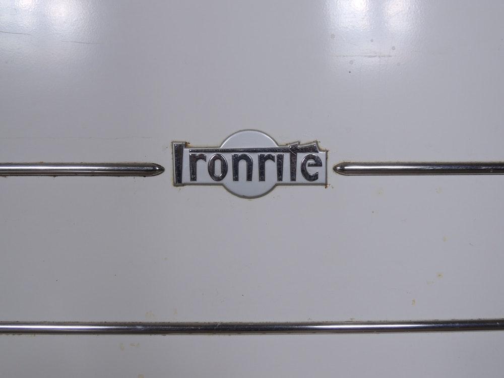 antique mangle ironing machine