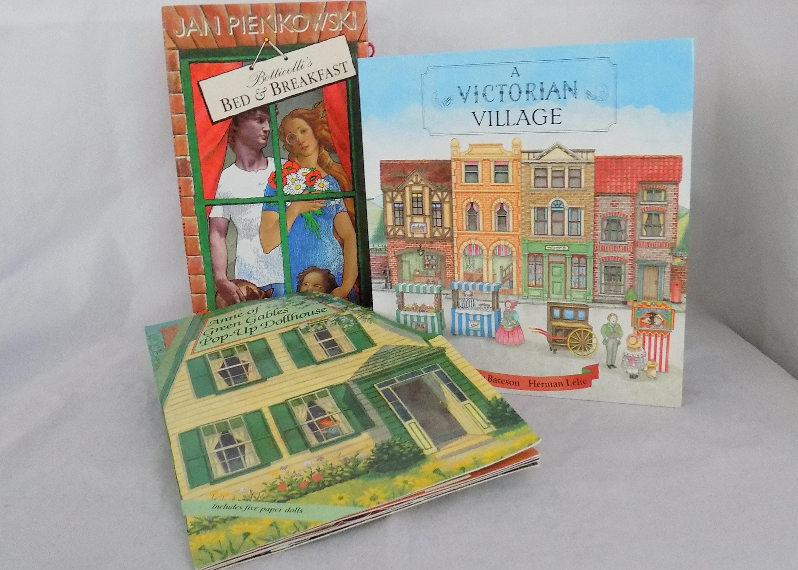 Three Dollhouse Themed Pop Up Books Ebth