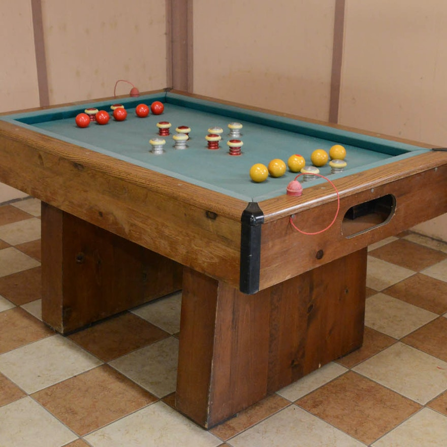 CC Steepleton Bumper Pool Table EBTH - Steepleton pool table