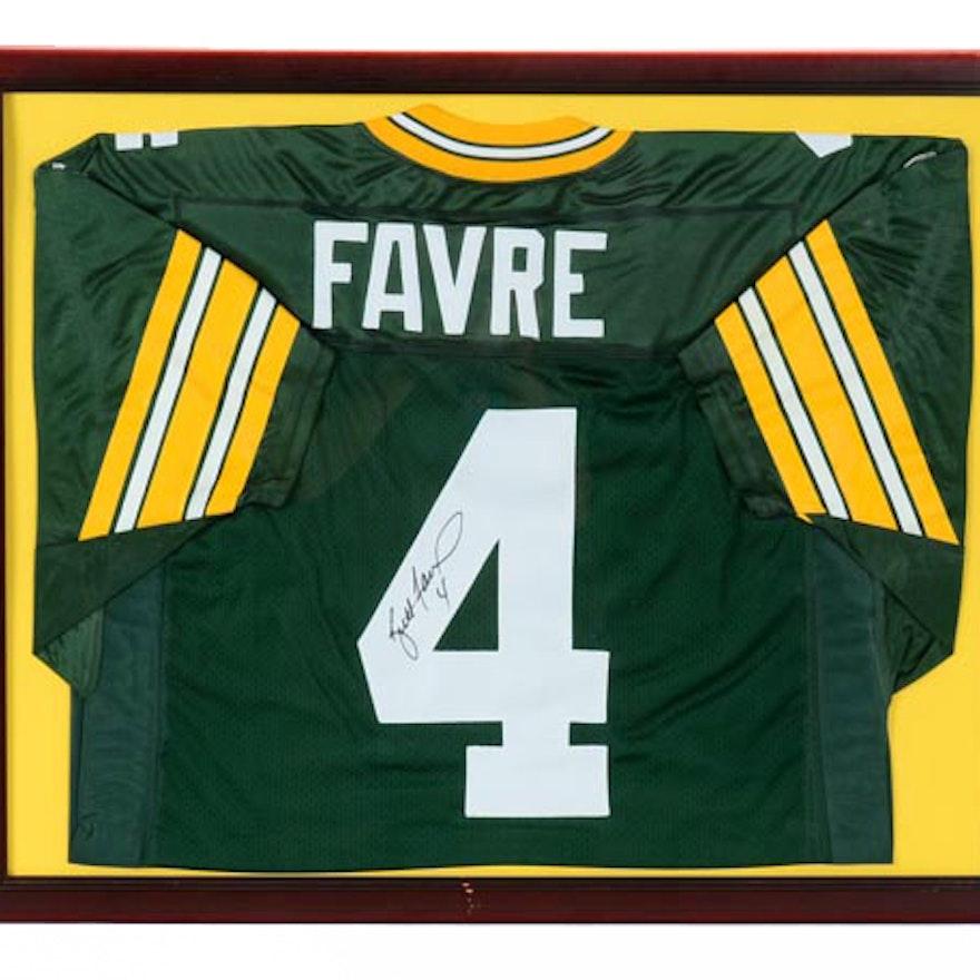 6d50e043061 Favre Signed Packers Jersey COA : EBTH