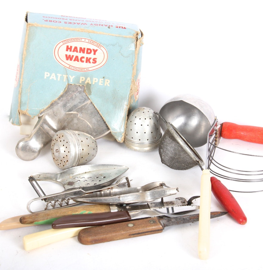 Vintage Kitchen Utensils EBTH