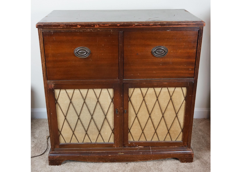 Sparton Radio Cabinet : EBTH
