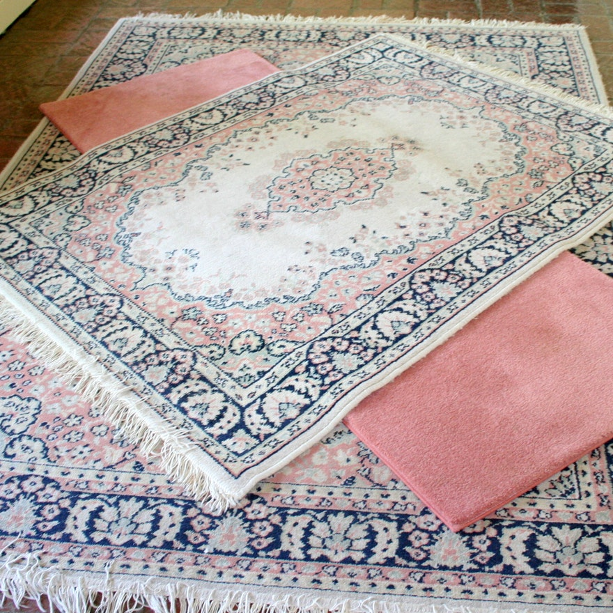 Matching Area Rugs And Pink Runner