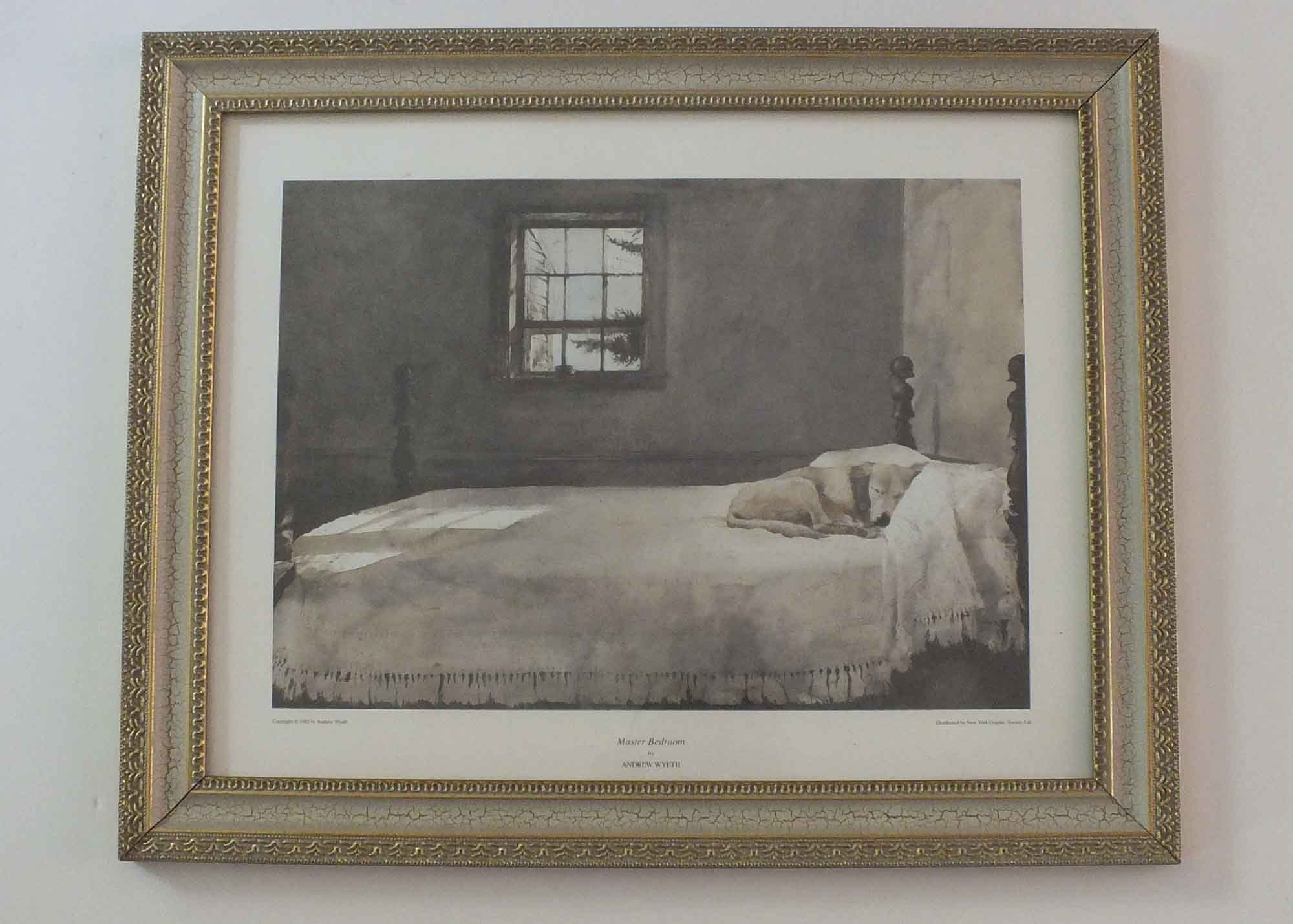 Quot Master Bedroom Quot Print By Andrew Wyeth Ebth