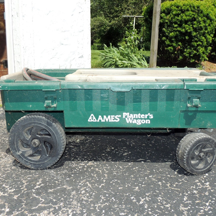 ames planters wagon and garden - Ames Garden Cart