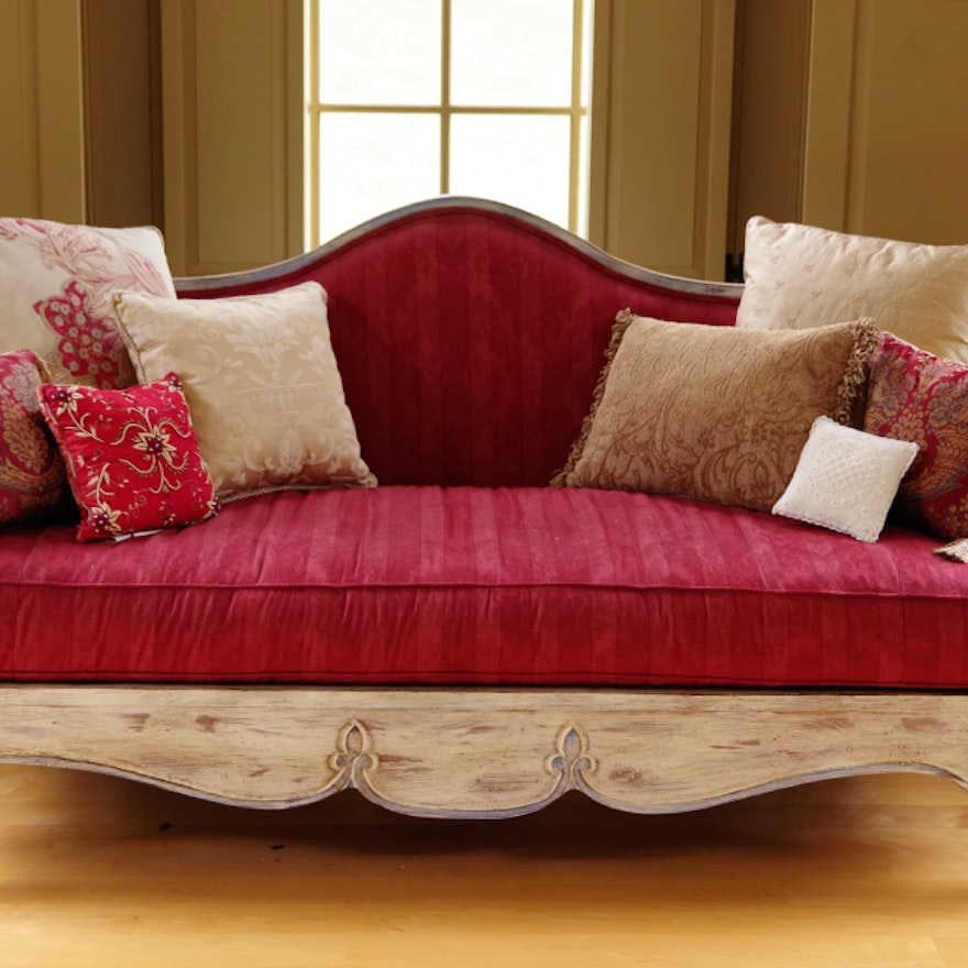 French Provincial Jacqueline Sofa By Highland