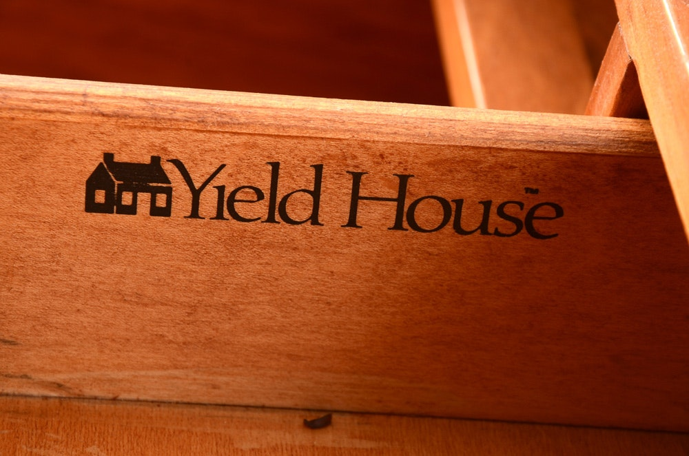Yield House Pine Writing Desk Ebth