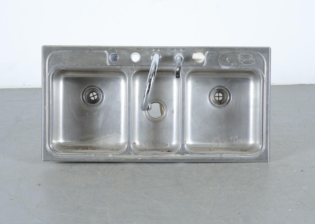 Kohler Triple Basin Sink ...