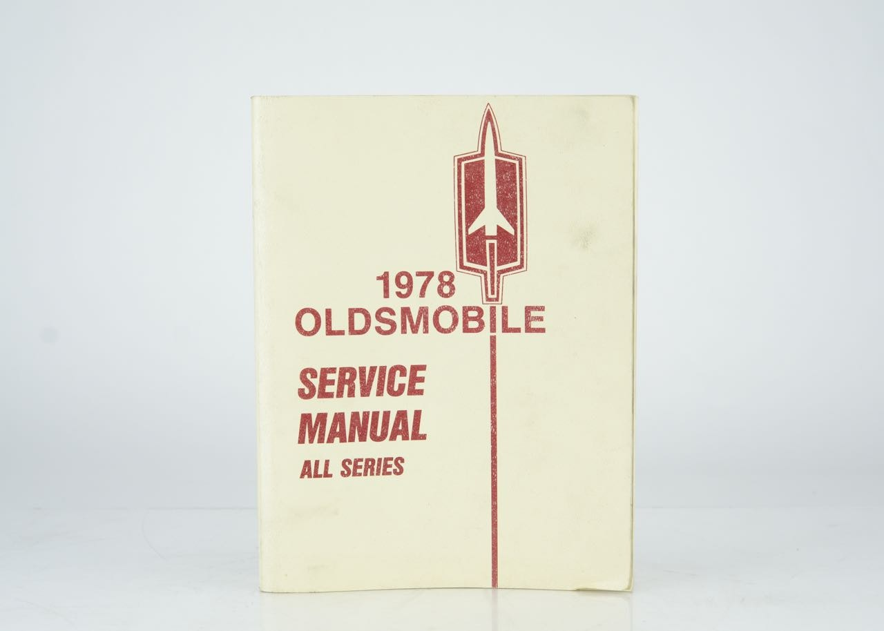 vintage oldsmobile service manual from 1978 ebth rh ebth com 1940 Oldsmobile 1940 Oldsmobile