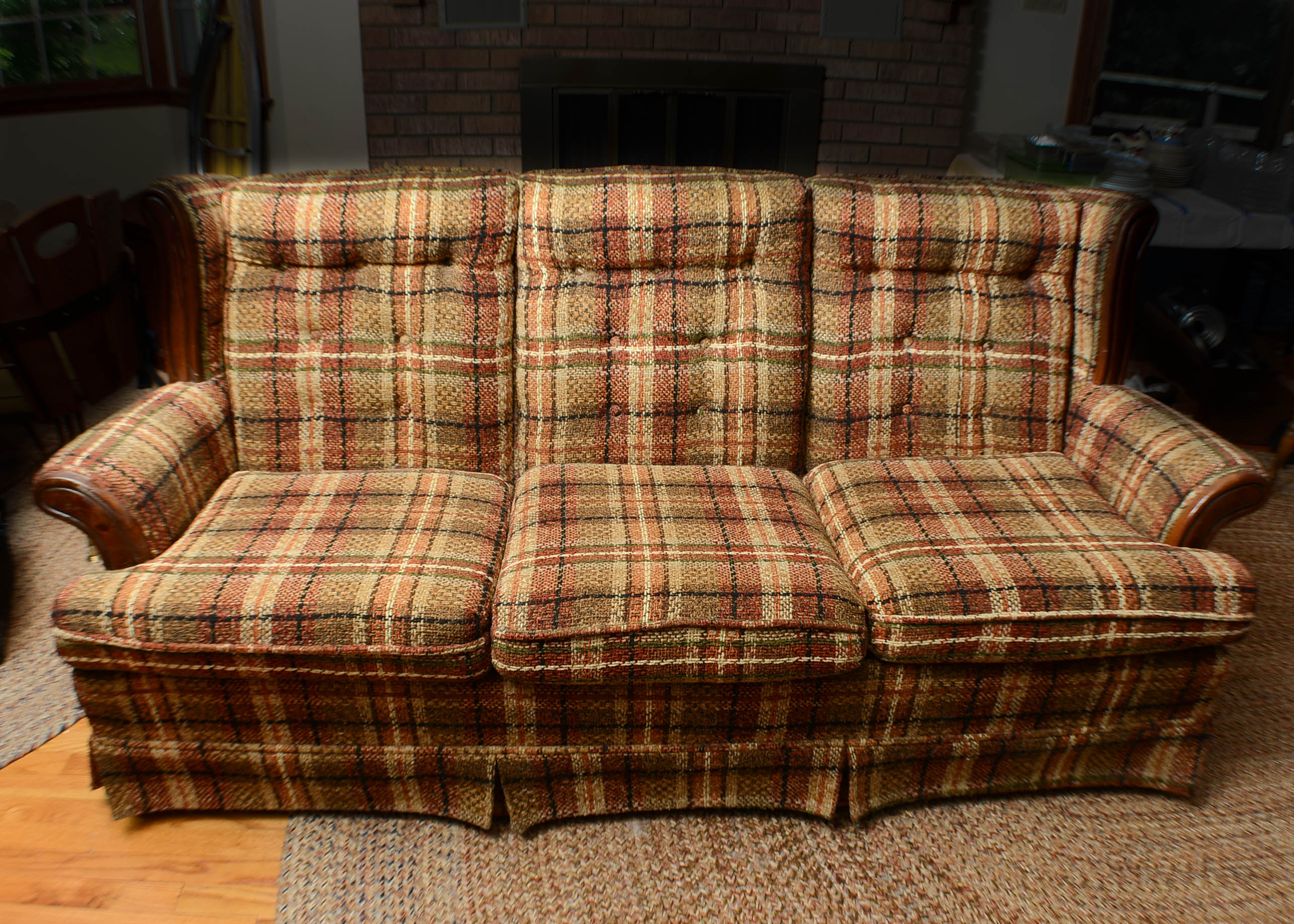 Country Plaid Sofas Pin By Turek On Home Decor