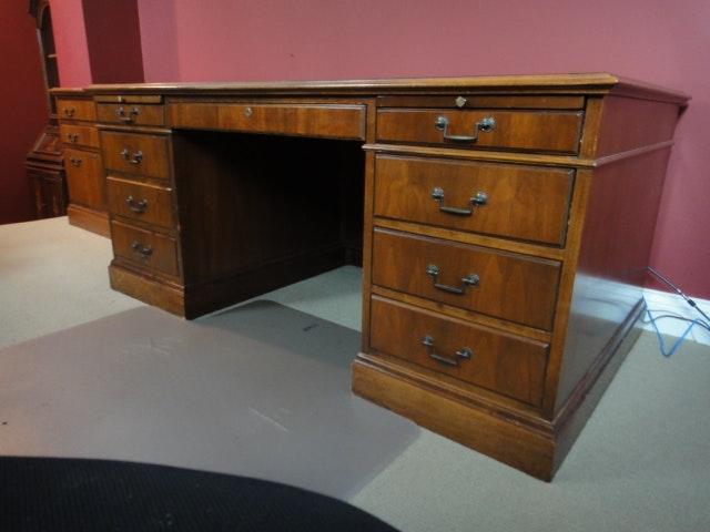 vintage jofco mahogany desk - Mahogany Desk