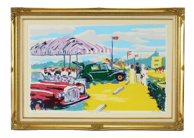 "Limited Edition Serigraph ""Tailgate Party"" by Thomas Lohre Jr."
