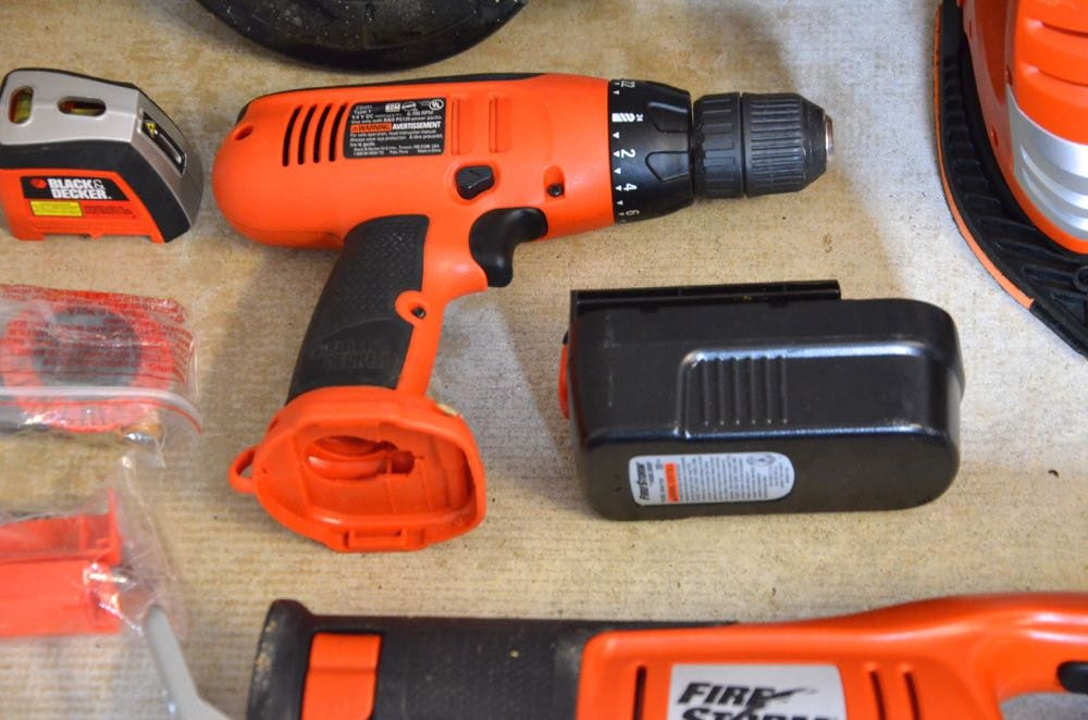 Black And Decker Firestorm Tool Kit Ebth