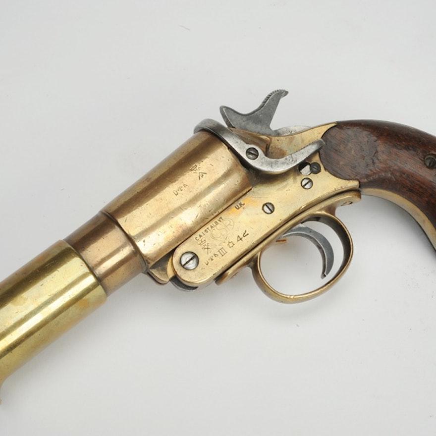 1942 WWII Australian MK III Flare Pistol