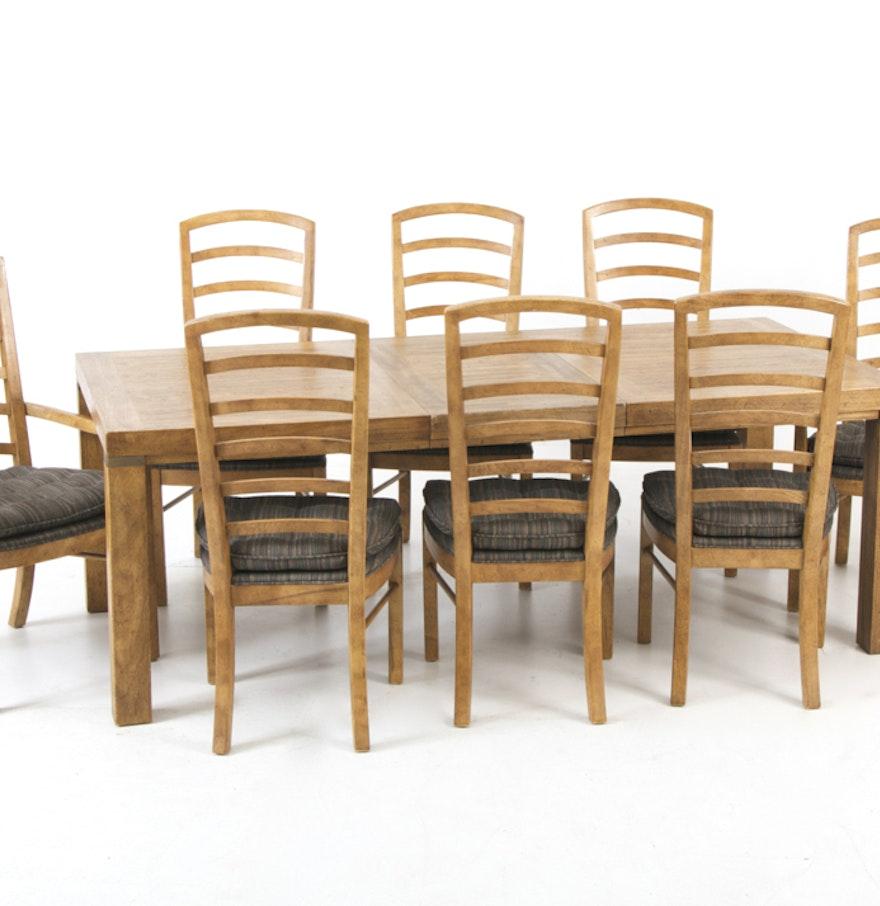drexel woodbriar dining set ebth