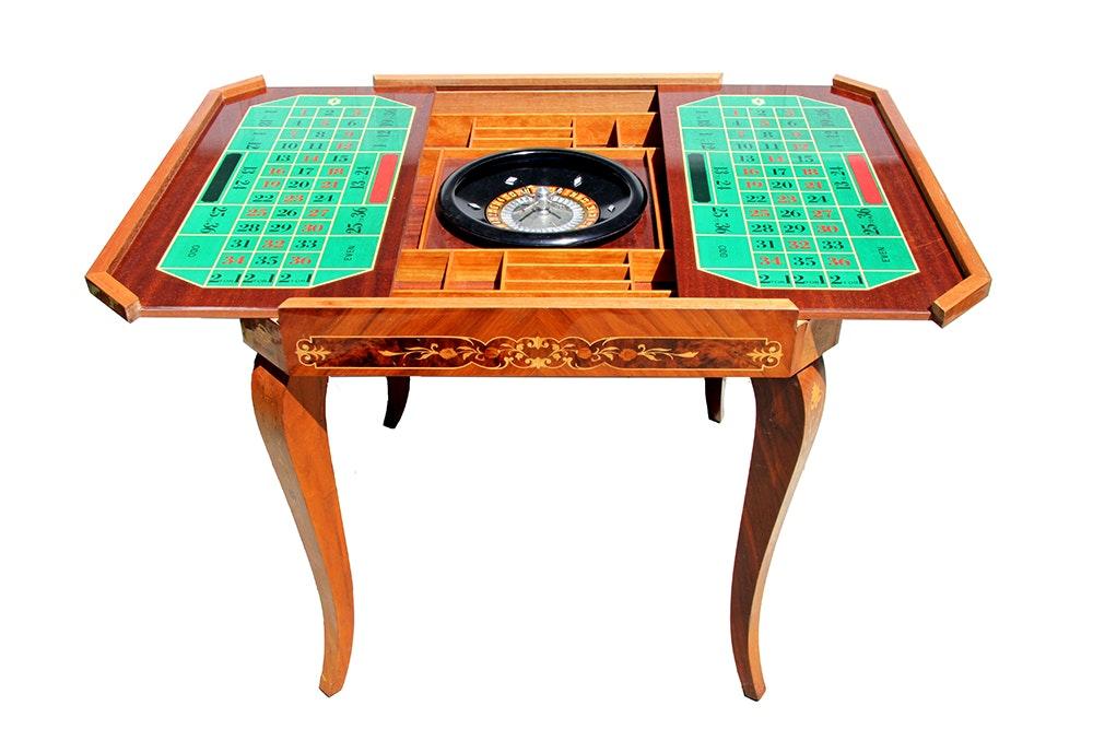 Attirant Custom Vintage Game Table ...