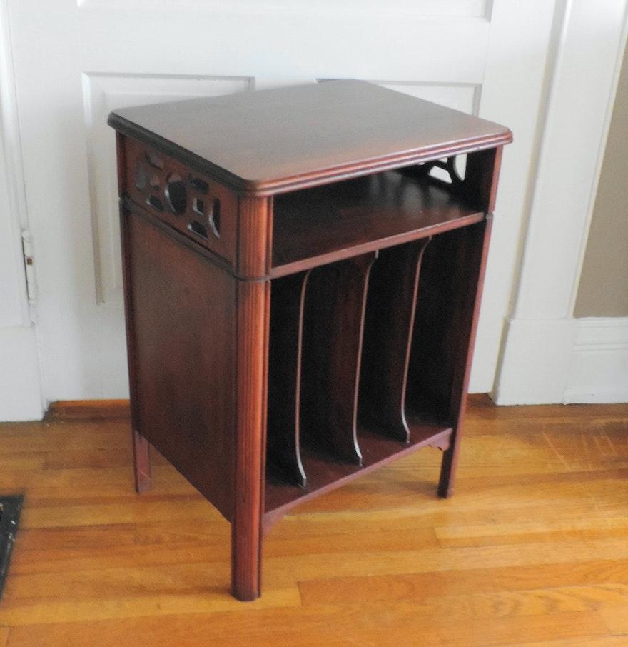 vintage century antique retro eames mid modern for sale door sliding record cabinet us danish