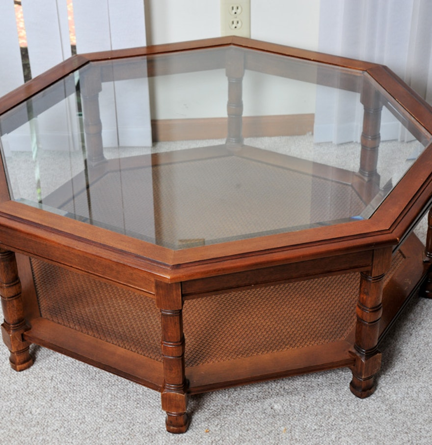 Octagon Coffee Table