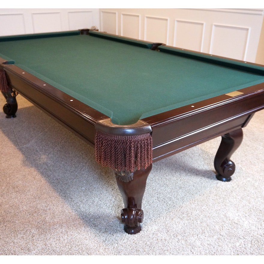 Gandy Pool Table And Accessories EBTH - Gandy pool table