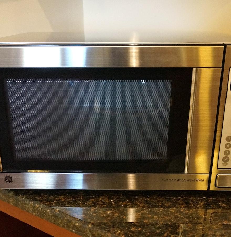 Ge Turntable Microwave Oven Jes738wj02 Bestmicrowave