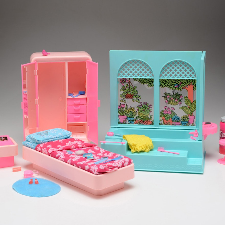 Dreams House Furniture: Vintage Barbie Dream Furniture Lot : EBTH