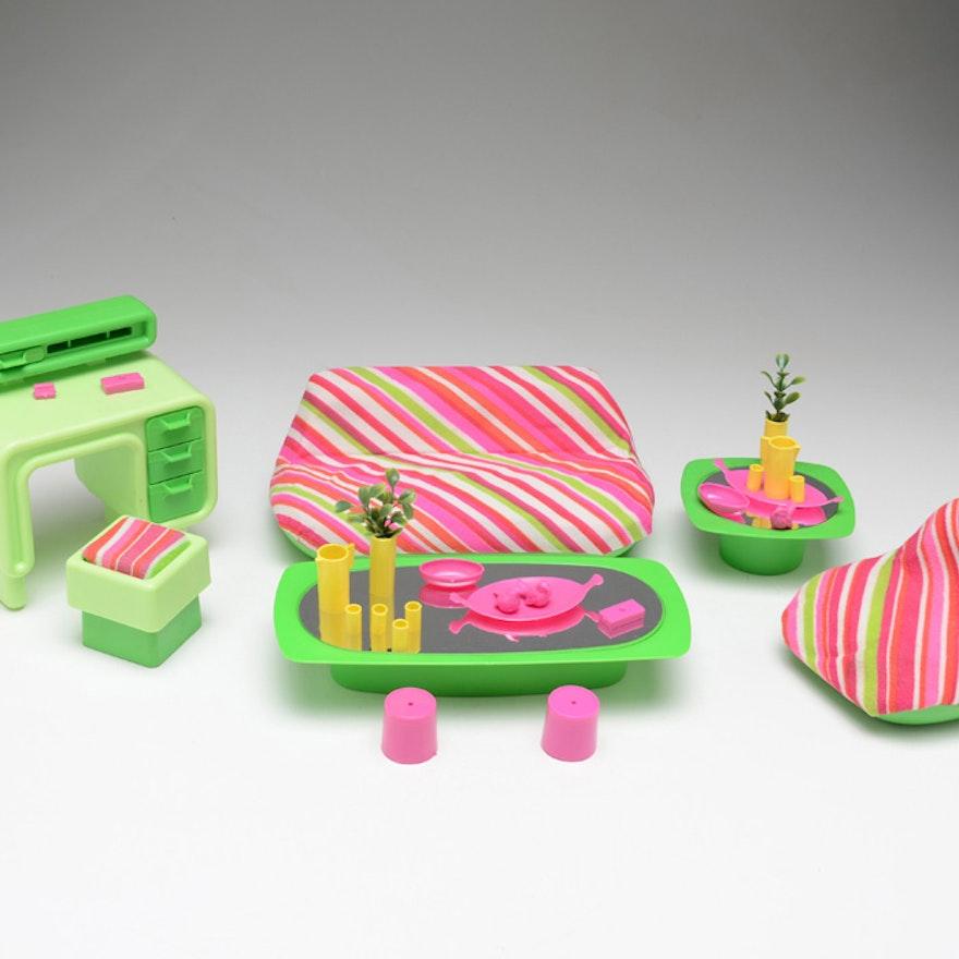 Vintage Barbie Living Room Dream Furniture Lot Ebth